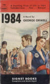 George Orwell's 1984 - First Signet Paperback printing
